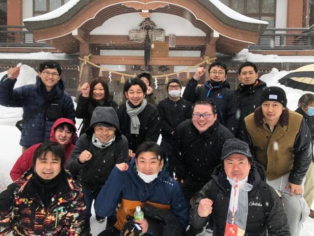 羽黒山神社へ参拝しました