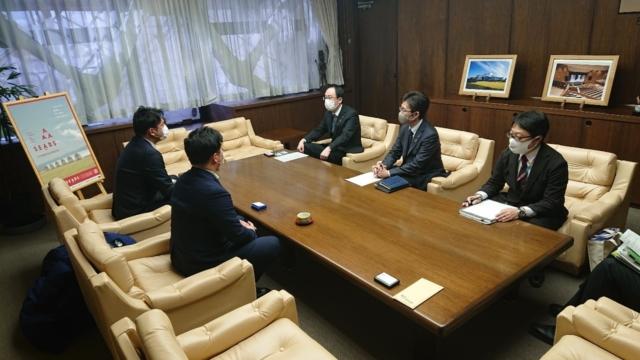 2月9日鶴岡市長表敬訪問