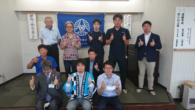 赤川花火総括が鶴岡市倫理法人会様のモーニングセミナーに講師としてお招き頂きました